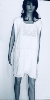 Robe Lin&Coton Blanc