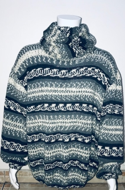 Snood Merinos Jacquard