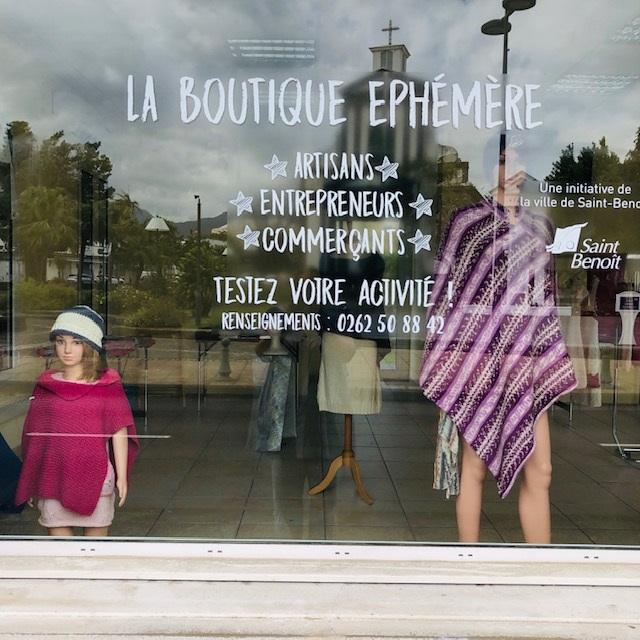 Boutique Ephémère à ST-BENOIT