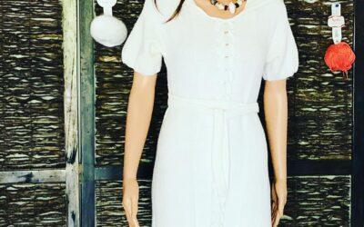 Robe Merinos Blanche