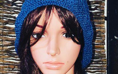 Chapeau LIN 100 % – MARINE